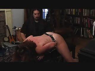spanked और बिल्ली हैरान