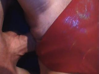 लाल स्ट्रिंग quicky - गर्म - जर्मन - CSM