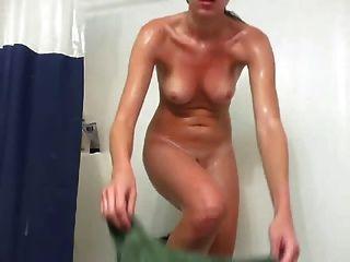 आत्म शॉट हस्तमैथुन स्नान