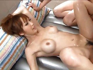 युकी मिजुहो और कैरिन asamiya गीला मालिश 4 - = fd1965 = -