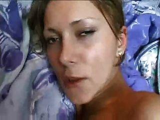 घर का बना बड़े स्तन के साथ सेक्स टेप महिला