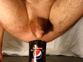 1.5 लीटर की बोतल पुरुष गुदा सम्मिलन