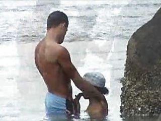 flagra NA परैया समुद्र तट बकवास