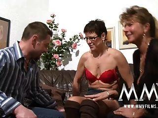 MMV फिल्में छेदा परिपक्व पत्नी मुर्गा हो जाता है
