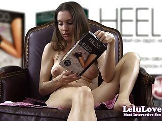 Lelu प्यार परीक्षण heeldo पैर डिल्डो