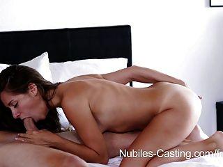 कास्टिंग Nubiles - छोटे तैसा बेब अश्लील कट्टर के लिए बाहर की कोशिश करता है