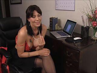 शिक्षक सेक्सी काले मोज़ा D10 पर सह