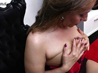 गर्म शौकिया चाची और उसके पुराने योनी