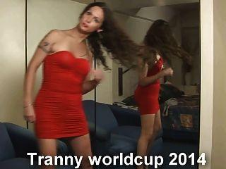 निकी ladyboys साथ tranny विश्व कप 2014