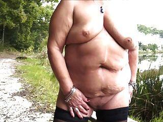 झील में दादी पट्टी