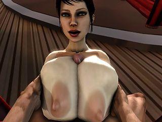 Trishka बड़ा नरम स्तन tittyfuck