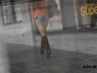 जूते में फ्रेंच cumslut exhibionist (gangbanggirl GGG)
