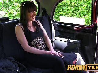 hornytaxi शादीशुदा औरत एक अच्छा मुश्किल कमबख्त लेता है