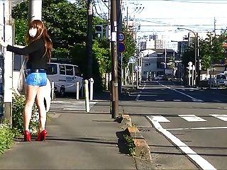 जापानी सीडी Pantyhose सार्वजनिक नुमाइशबाजी एशियाई महिला 2