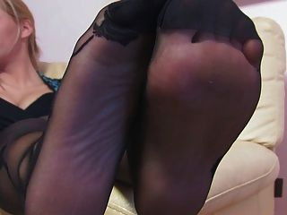 अच्छी औरत अच्छी nylonfeet 24