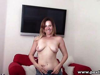 povlife प्राकृतिक स्तन रेड इंडियन प्रेमिका पीओवी गड़बड़ आउटडोर