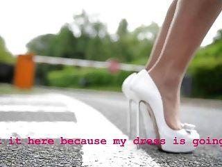 किशोर लंघन रस्सी पैंटी के बिना उच्च ऊँची एड़ी के जूते (एशियाई महिला)