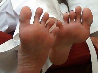 सेक्सी कराटे पैर jerkoff
