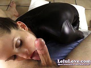 Lelu प्यार-Catsuit पीओवी चिढ़ा सह शॉट