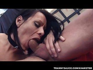 tranny बेब Fernanda हो रही anally गड़बड़ कठिन