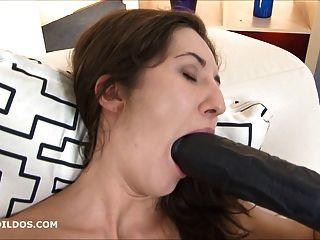 चरम लंबे क्रूर dildo कमबख्त