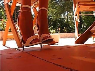 6.5 इंच की सैंडल झूलने