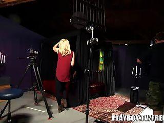 दंपति प्लेबॉय टीवी के साथ पहले अश्लील बनाता है
