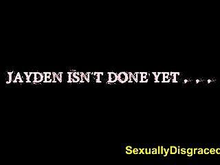 सेक्स गुलाम Jayden रायबरेली उसके स्वामी गर्म लोड प्राप्त करने के लिए रिटर्न
