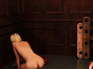 फर्श की सफाई slavegirl