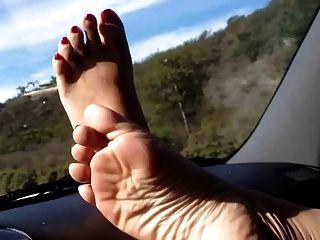मेरा एशियाई की पेडल पंप सुंदर पैर