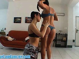 आराध्य लड़कियों साथ striping