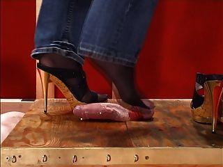 जूता और Footjob