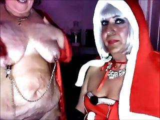 मालकिन क्रिसमस और उसे उप फूहड़ कैटरीना पीटी 3