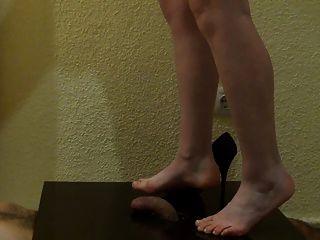 मेरा वजन नंगे पैर लग रहा है