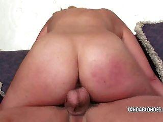 गोरा फूहड़ केटी ग्रीष्मकाल उसे गीला योनी मुश्किल dicked हो जाता है