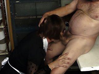 हनोवर में मेरे गुरु सह चुंबन rimm चूसना