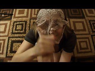 उसकी pantied चेहरे पर सह!