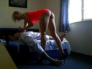 अत्यंत गर्म गर्म धोखा दे उसकी fuckbuddy साथ पति