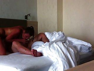 BBZ से समुद्र तट के बाद fucks होटल में परिपक्व माँ