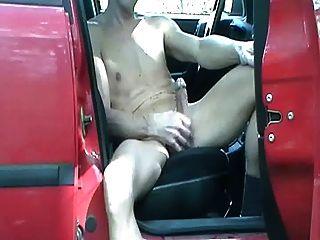 समलैंगिक henndrik आउटडोर कार एकल नग्न शो ऑफ़लाइन कोई सह