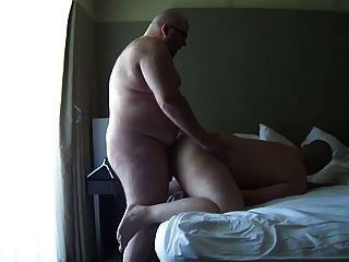 डेट्रायट चूब बड़ा गंजा भालू ने barefucked