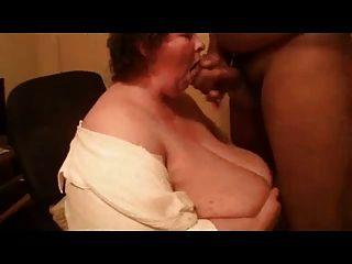 minchie विशाल titty blowjob