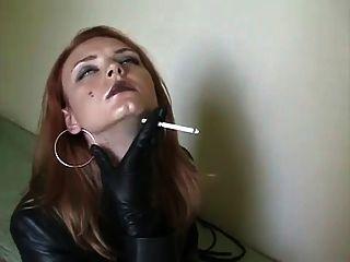 चमड़े में धूम्रपान .....