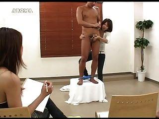 एशिया handjob 1 आदमी 2girls