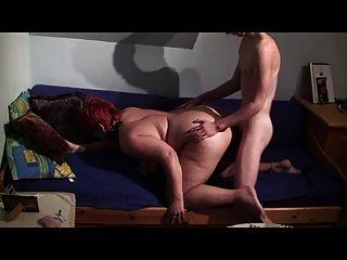 लड़के के साथ अन्ना devot जर्मन शौकिया बकवास