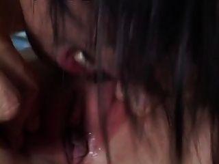 Filipina लड़की मोनिका लोपेज पिछवाड़े में गड़बड़