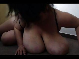 स्वादिष्ट बड़ी प्राकृतिक स्तन - negrofloripa