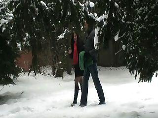 बर्फ में सार्वजनिक सेक्स