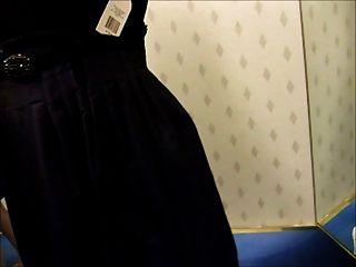 दुकान ड्रेसिंग रूम blowjob पोशाक रैक को लौट में