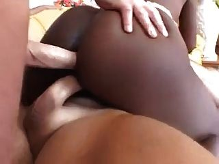 सेक्सी सिमोन पश्चिम 3 व्हाइट Wangs के साथ भरवां